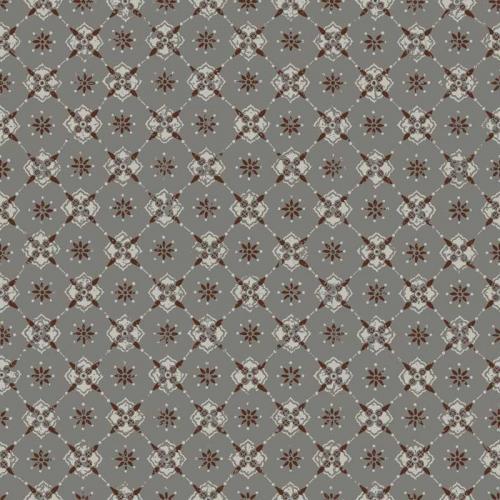 Duro Wallpaper - Karolina - Grey/Red