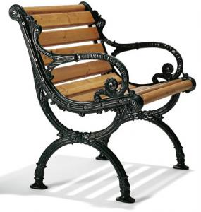 Outdoor Armchair - Norrahammar oak