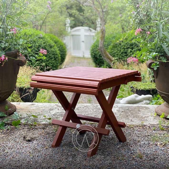 Trädgårdspall - 1800-tal - sekelskiftesstil - gammaldags inredning - klassisk stil - retro