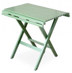 Trädgårdsbord - 1800-tal hopfällbart 75 cm - klassisk stil - gammal stil - retro