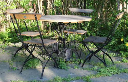 Garden furniture set - Arbor, table with 4 chairs