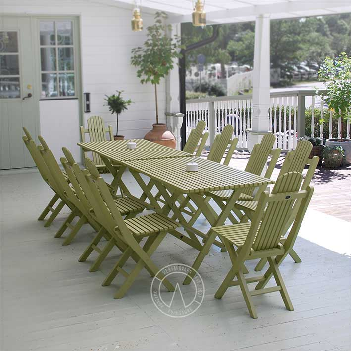 Garden Table - Jugend, foldable - classic style