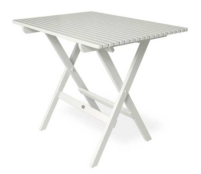 White Garden Table - old style Jugend, foldable
