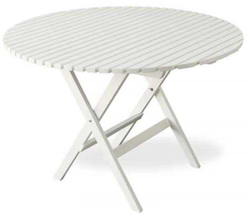 Garden Table - Jugend, foldable round 110 cm