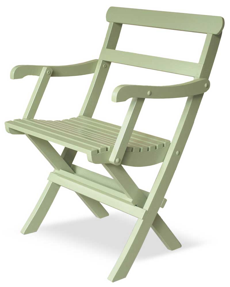 Garden Chair - 1920s foldable - old style - oldschool - old fashioned interior