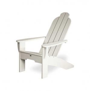 White Deck Chair - early 1900s - classic style
