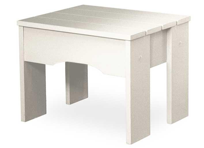 Litet däckbord eller pall vit - Tidigt 1900-tal, 50 cm - Sekelskifte