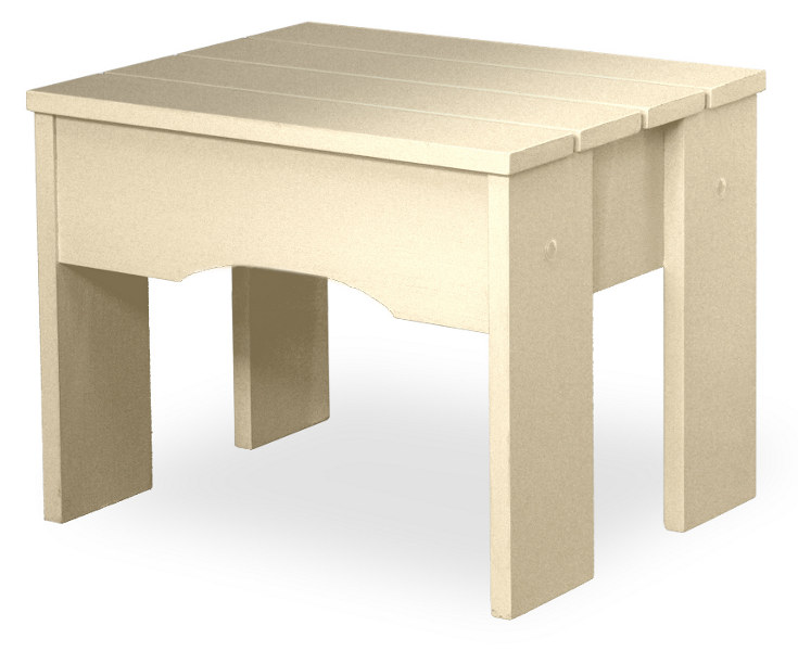 Däckbord/pall - Tidigt 1900-tal 50 cm - sekelskifte - klassisk stil -  gammaldags