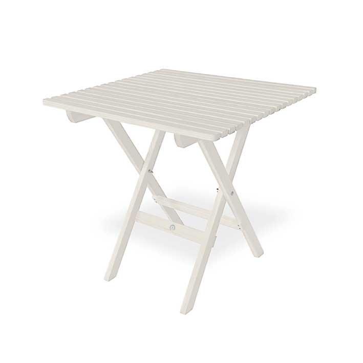 Trädgårdsbord - Veranda hopfällbart, 75 cm - sekelskiftesstil - gammaldags inredning - klassisk stil - retro