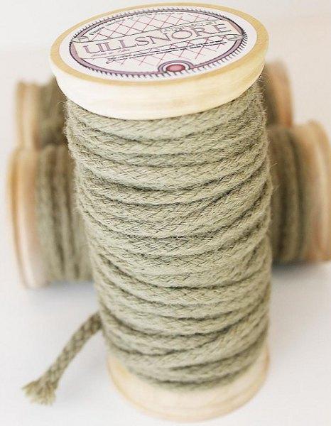 Tätningslist ull - 5 mm ullsnöre - gammaldags stil - sekelskifte - klassisk inredning
