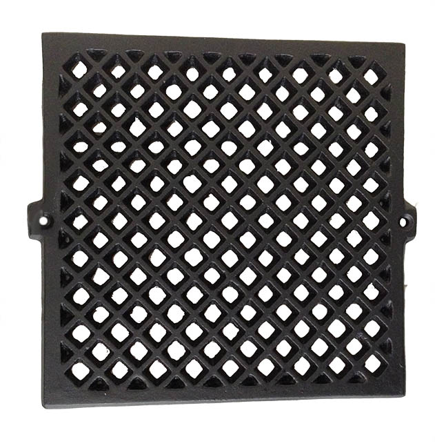 Cast Iron Ventilation Grid - 200 mm - old style - old fashioned interior - vintage
