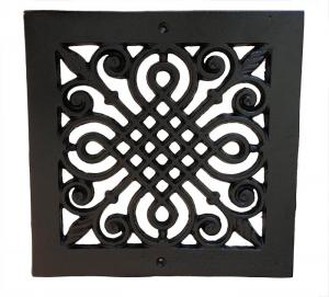 Ventilgaller - Ornamenterat - klassisk inredning - gammal stil - sekelskifte