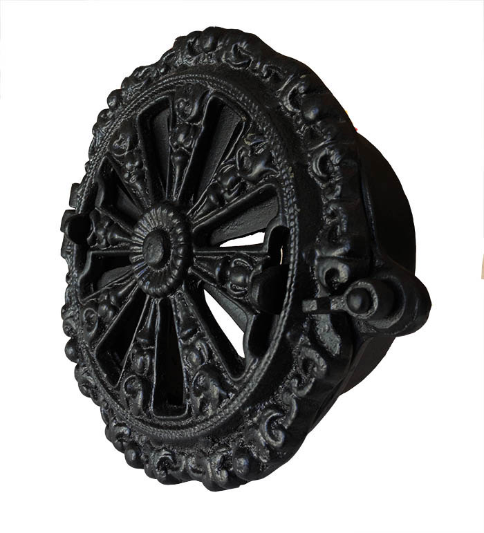 Rosette Valve ornamented round - Cast Iron 150 mm