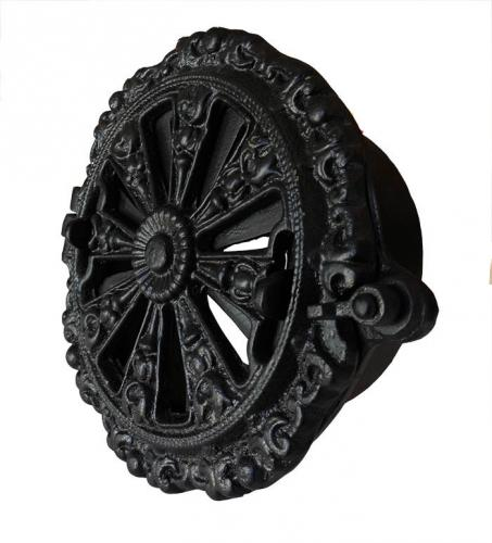 Rosette Valve ornamented round - Cast Iron 150 mm