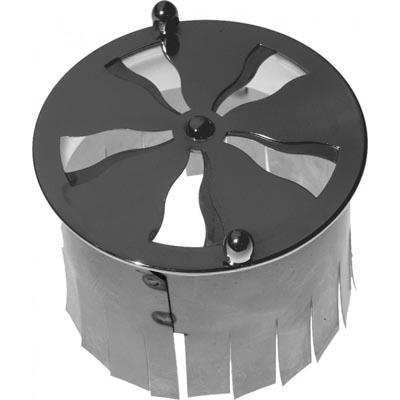 Spiral valve with anchor - Nickel