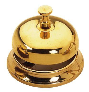 Hotel bell - Brass