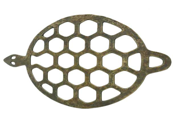 Trivet antique brass - Turtle
