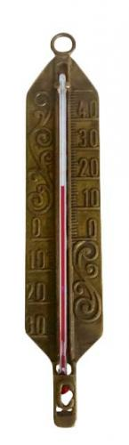 Old style Thermometer - Antique Brass