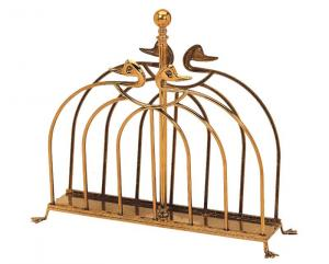 Magazine rack brass - Duck