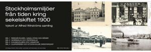 Bok - Stockholmsmiljöer från tiden kring sekelskiftet 1900