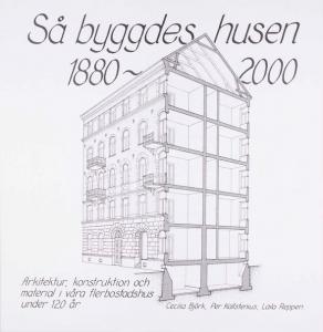 Bok - Så byggdes husen 1880-2000 - sekelskiftesstil - gammaldags inredning - klassisk stil - retro