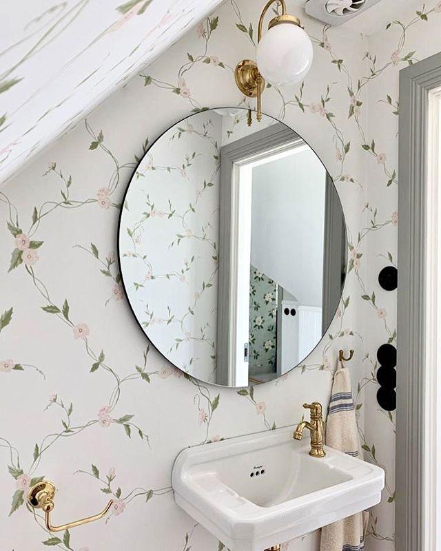 Tvättställsblandare - Oxford mini mässing - gammaldags inredning - klassisk stil - retro -sekelskifte