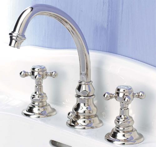 Sink mixer - Eloise 3 - hole - old style - oldschool interior - old fashioned style - vintage