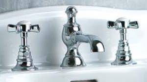 Washbasin Tap - Horus Coventry for 3 tapholes - classic interior - oldschool style - vintage interior