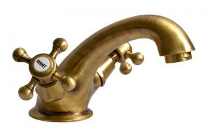 Wash basin mixer - Kensington bronze