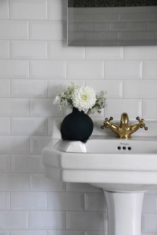 Tvättställsblandare - Kensington mässing - gammaldags inredning - klassisk stil - retro -sekelskifte