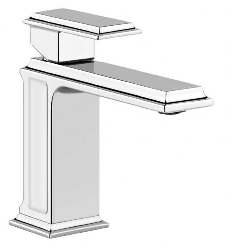 Old style washbasin mixer - Gessi Eleganza 15 cm chrome