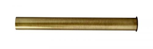 Drain pipe with edge 30/300 mm for water trap - Bronze