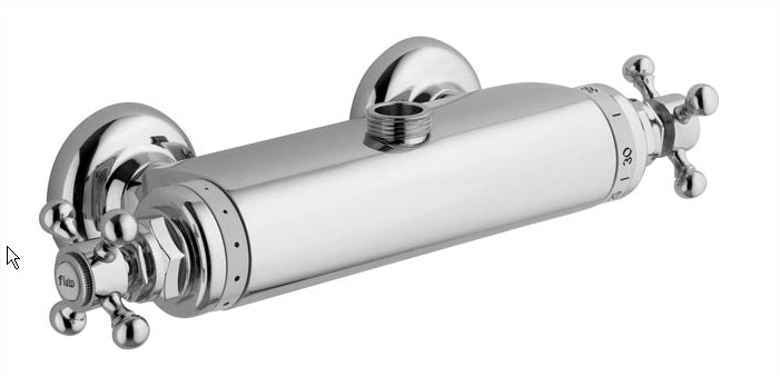 Shower Set - Maxima Classic with Donegal thermostat 160 cc - old fashioned style - classic interior