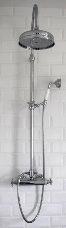 Shower Set - Maxima Classic with Donegal thermostat 160 cc