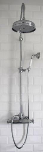Shower Set - Maxima Classic with Donegal thermostat 160 cc - old fashioned style - vintage interior - classic style - retro