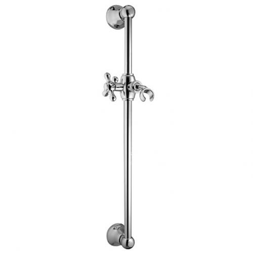 Shower Rail - Classic 60 cm without handset and hose