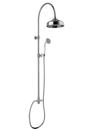 Classic shower Kit - Canterbury without shower valve crome