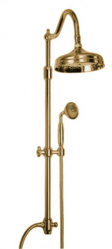 Shower Kit - Canterbury II without shower valve bronze