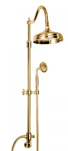 Shower Kit - Canterbury II without shower valve brass