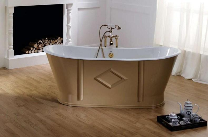 Bathtub - Chateau beige 170 cm - old style - oldschool - vintage style