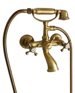 Bath tub shower mixer kit - Kensington bronze