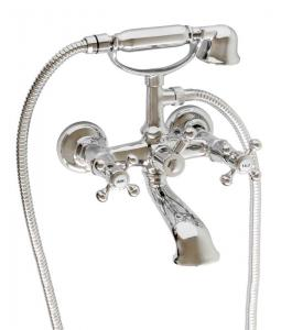 Bath tub shower mixer kit - Kensington chrome