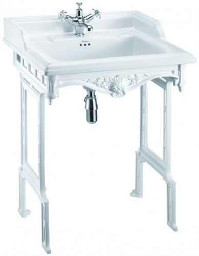 Wash Basin - Burlington Classic 65 White - old style - oldschool - vintage interior