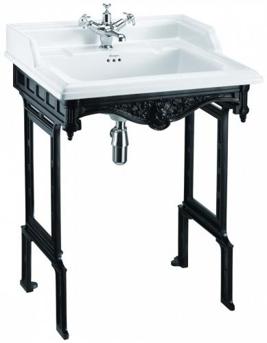 Wash Basin - Burlington Classic 65 Black - classic interior - old style - old fashioned