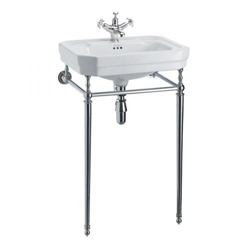 Wash Basin - Burlington Victorian 56 cm with chrome stand