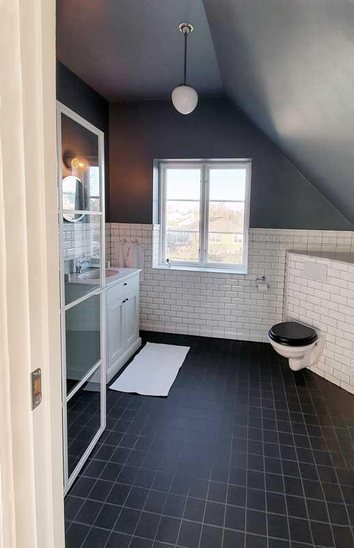 WC - Vegghengende Dorchester - arvestykke - gammeldags dekor - klassisk stil - retro - sekelskifte