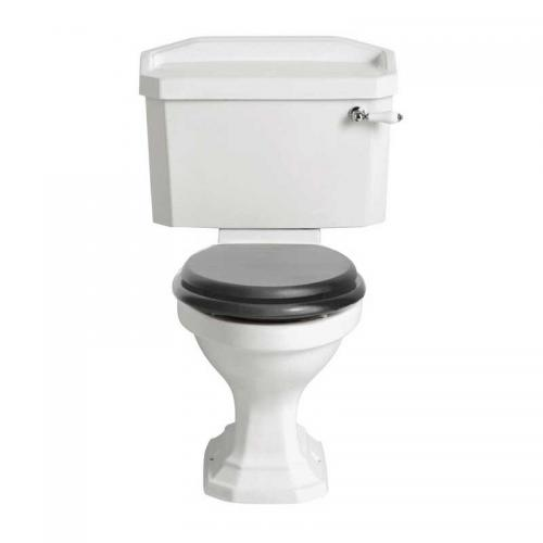 WC - Heritage Granley with flush lever & seat