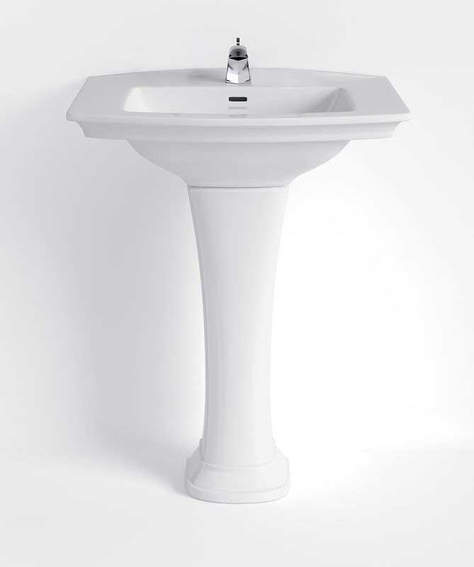 Wash basin Heritage - Blenheim 65 cm, pedestal
