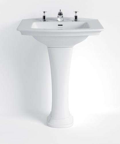 Tvättställ - Heritage Blenheim 65 cm, piedestal