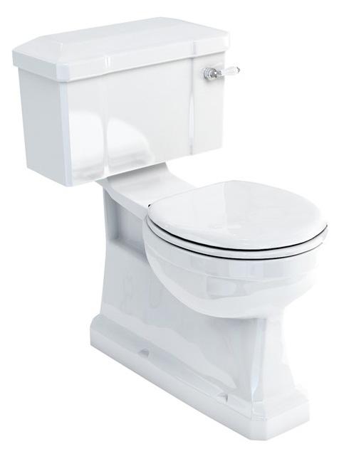 WC - Burlington hidden drain & seat